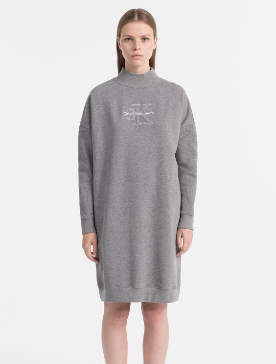 Logo Sweater Dress Calvin Klein