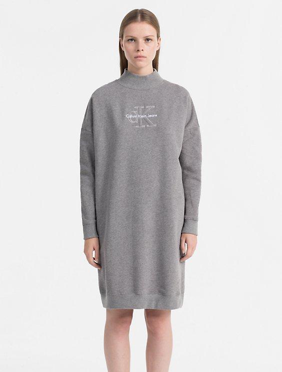 Logo Sweater Dress Calvin Klein jQpiusl2G