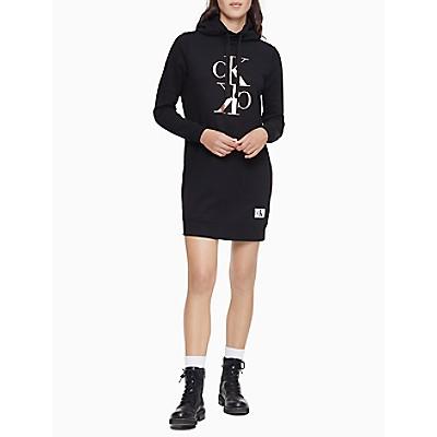 Mirror Monogram Logo Sweatshirt Dress