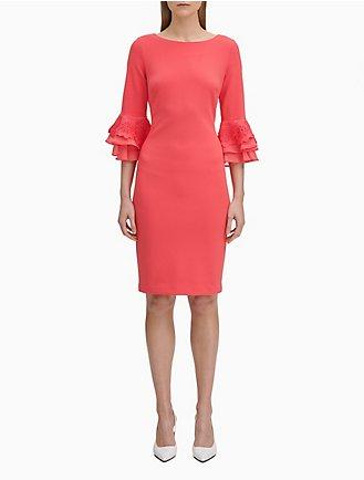 Women's Clothing Initiative S-xxl Spring Autumn Woman Dress Flare Sleeve V-neck Calf Length Wine Red Velour Velvet Dress Fashion Vintage Long Wine Red Dress