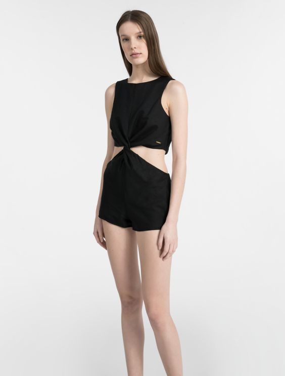 Core Lifestyle Cut Out Romper by Calvin Klein