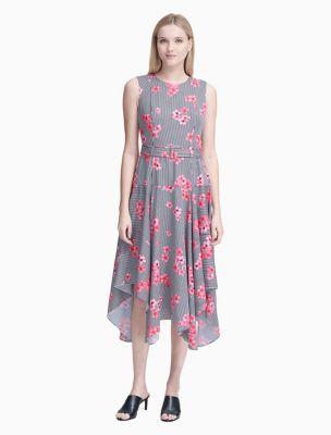 Office Vintage Tea Length Dress