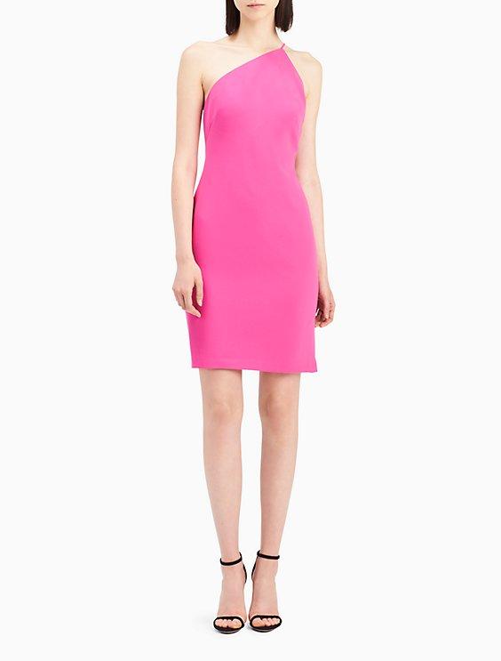 One shoulder sheath dress Visit New Sale Online XON2l0o