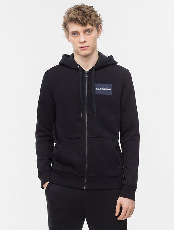 f9fc88574c6f logo block zip hoodie