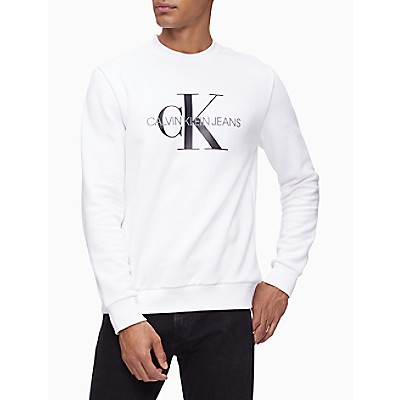 Monogram Logo Crewneck Sweatshirt