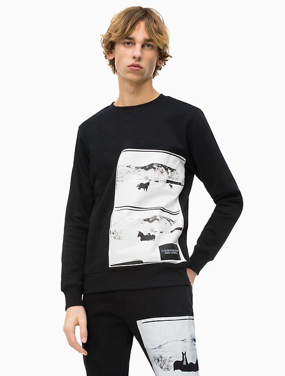 4e4fe31c7bcffc Price as marked warhol landscape crewneck sweatshirt