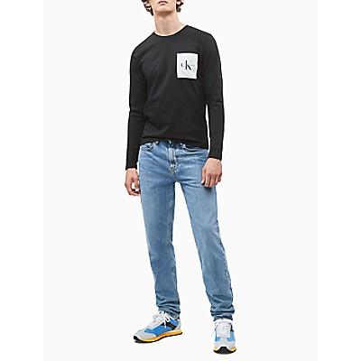 Slim Fit Organic Cotton Long-Sleeve T-Shirt