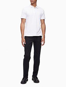 Men's Polo Shirts | Short & Long Sleeve Polos | Calvin Klein