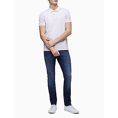 New Essentials Regular Fit Liquid Cotton Feeder Stripe Polo Shirt