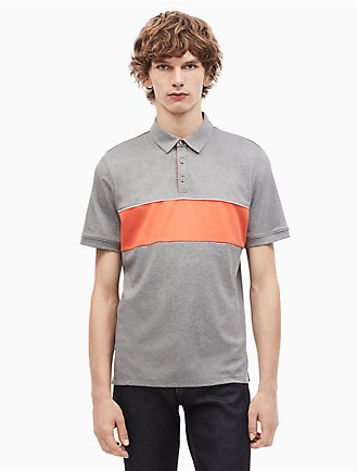 regular fit liquid cotton tipped polo shirt d7d38c3830bbf