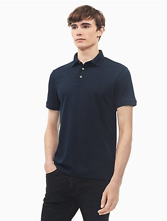 431e6f61a4 regular fit solid polo shirt