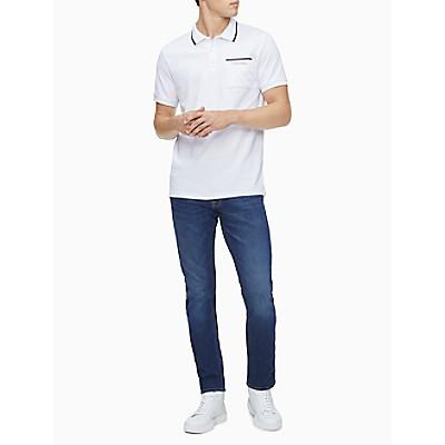 Move 365 Logo Tipped Polo Shirt