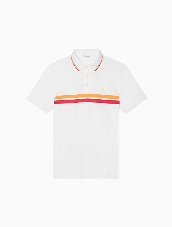 f55715a54b Regular Fit Dual Stripe Polo Shirt | Calvin Klein