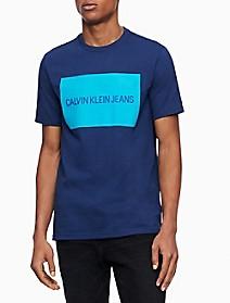 Logo Block Crewneck T-Shirt   Calvin Klein