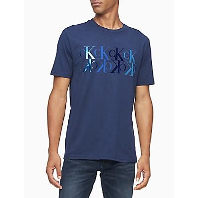 Mirror Monogram Logo Crewneck T-Shirt