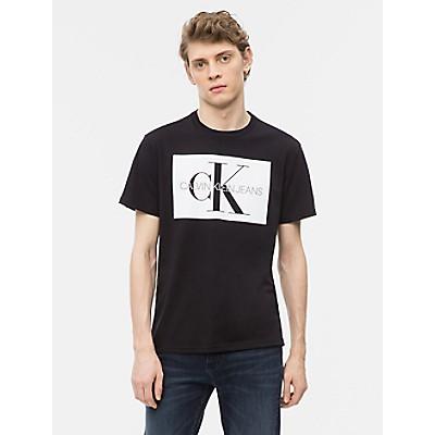 Monogram Logo Block Crewneck T-Shirt