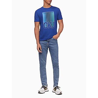 CKJ Color Gradient Crewneck T-Shirt