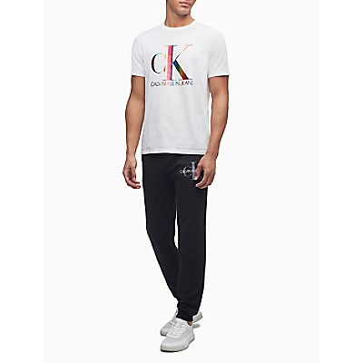 Pride Monogram Logo Crewneck T-Shirt