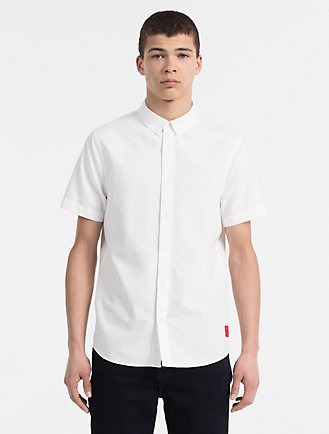 Men's Casual Shirts   Calvin Klein