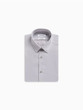 bd79632fd Slim Fit Herringbone Point Collar Performance Non-Iron Dress Shirt