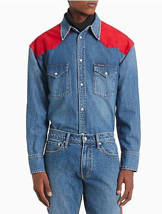 40048bd442a Oversized Western Shirt