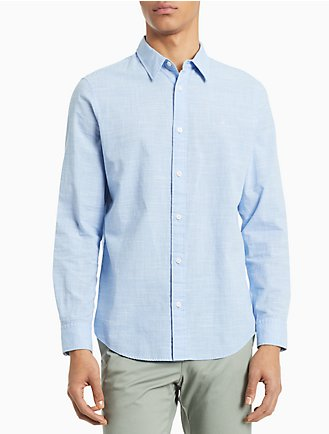 60df143f033 Classic Fit Chambray Shirt