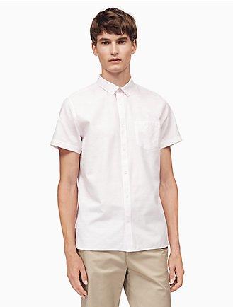 Classic Fit Cotton Slub Shirt