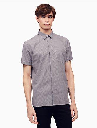 Mens Casual Shirts Short And Long Sleeve