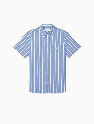 1e2176edf98 Classic Fit Yarn-Dyed Stripe Shirt