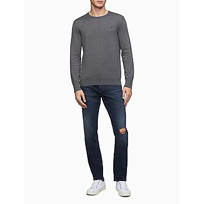 Regular Fit Logo Supima Cotton Pullover Sweater