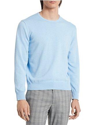 183a855c4378 Regular Fit Logo Supima Cotton Pullover Sweater