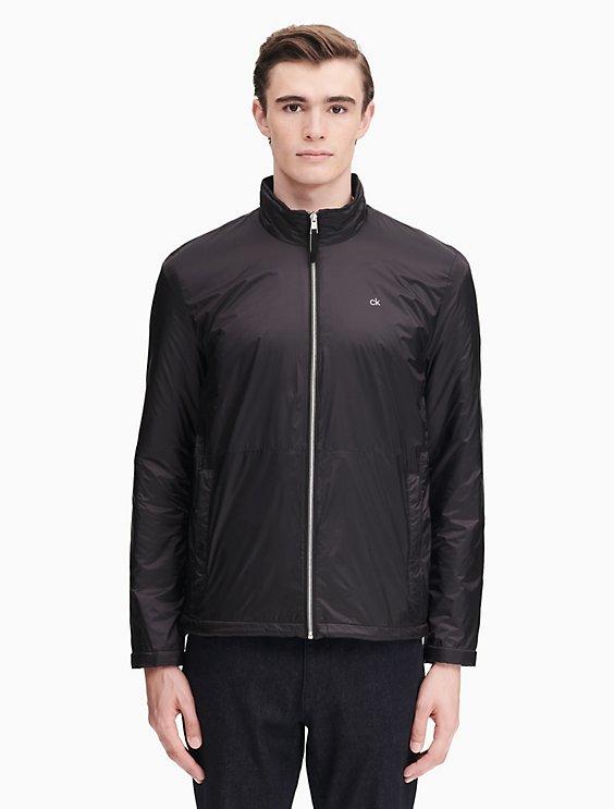 b20f48f8 nylon zip fleece windbreaker jacket | Calvin Klein