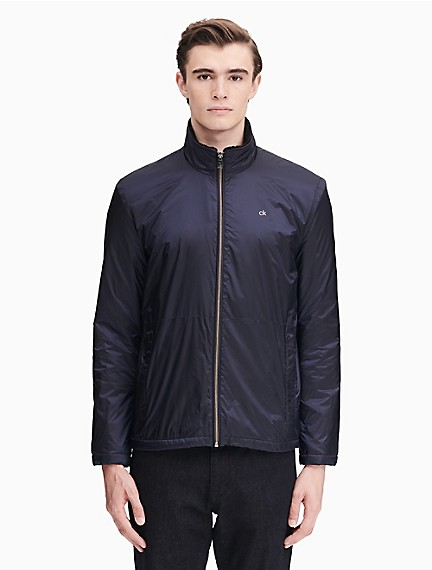 d4114d561de Nylon Zip Fleece Windbreaker Jacket