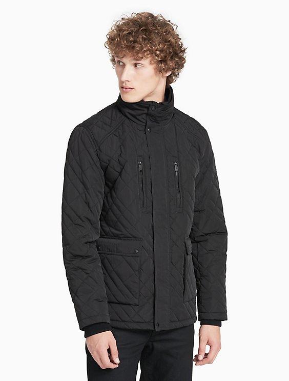 Quilted Field Jacket Calvin Klein