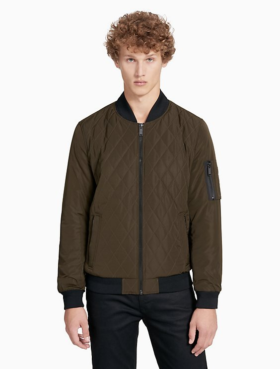 Quilted Bomber Jacket Calvin Klein