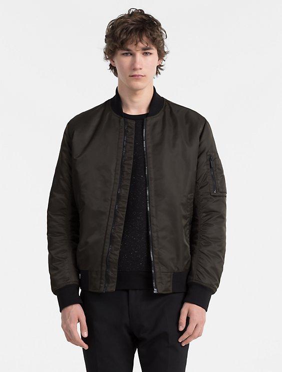 b56ce120af213 Final Sale padded bomber jacket