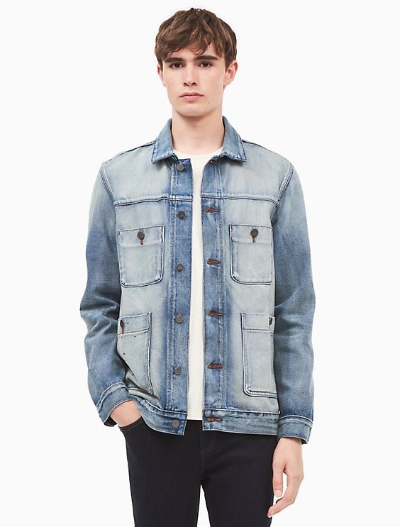 Clearance Order Amazing Price Cheap Online Denim jacket Calvin Klein Jeans Cheap And Nice 5IlKck