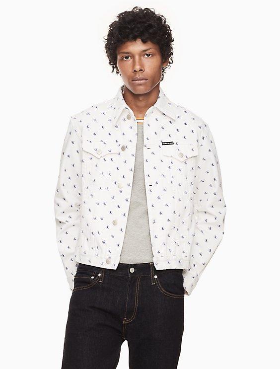 2d5c2191 foundation western trucker jacket | Calvin Klein