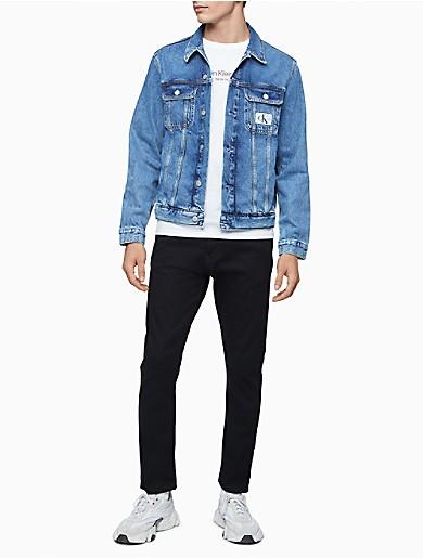 Image of Eco Series Mid-Blue Stonewash Denim Jacket