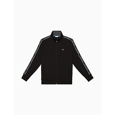 Athleisure Logo Tape Full Zip Sweatshirt