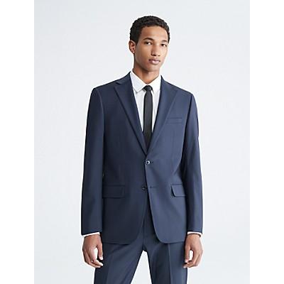 x fit ultra slim fit navy suit jacket | Calvin Klein
