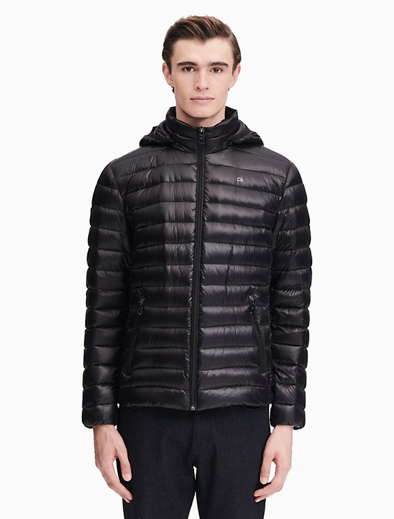 3f856c4170d Down Packable Hooded Jacket | Calvin Klein