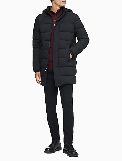 Image of Packable Puffer Hooded Jacket