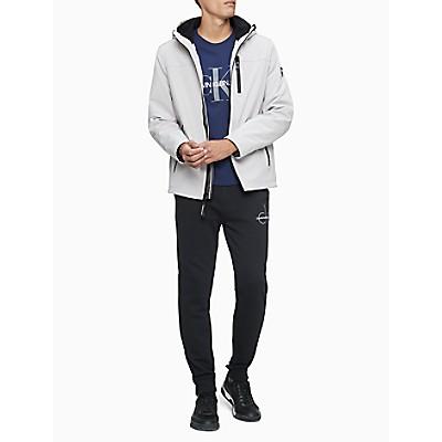 Soft Shell Logo Full Zip Hooded Jacket