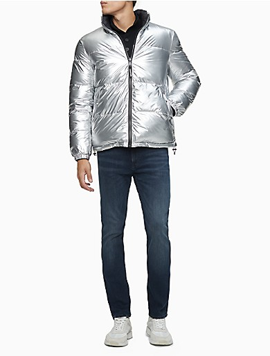 Image of Reversible Full Zip Puffer Jacket