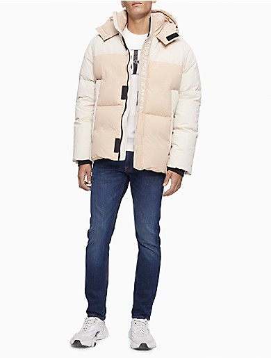 Image of Eco Series Recycled Nylon Down Puffer Jacket