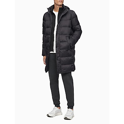 Packable Hooded Long Jacket