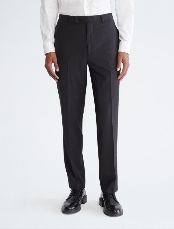 Slim Wool Trousers Calvin Klein