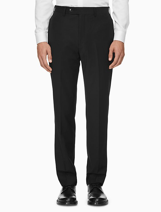 Slim Wool Trousers Calvin Klein hWmjP5cut