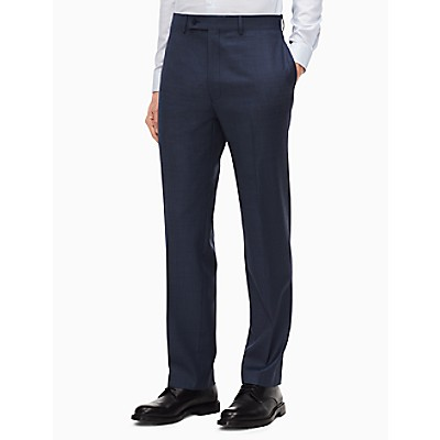 0728c00c3ca slim fit blue suit pants
